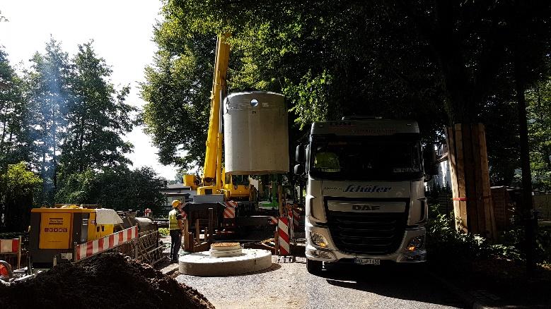 Erneuerung Straßenentwässerungsleitung